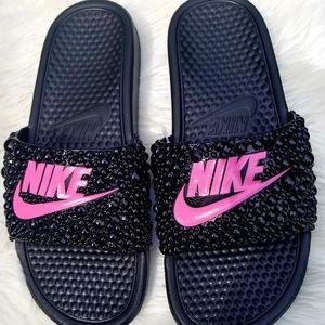 Nike slides custom made